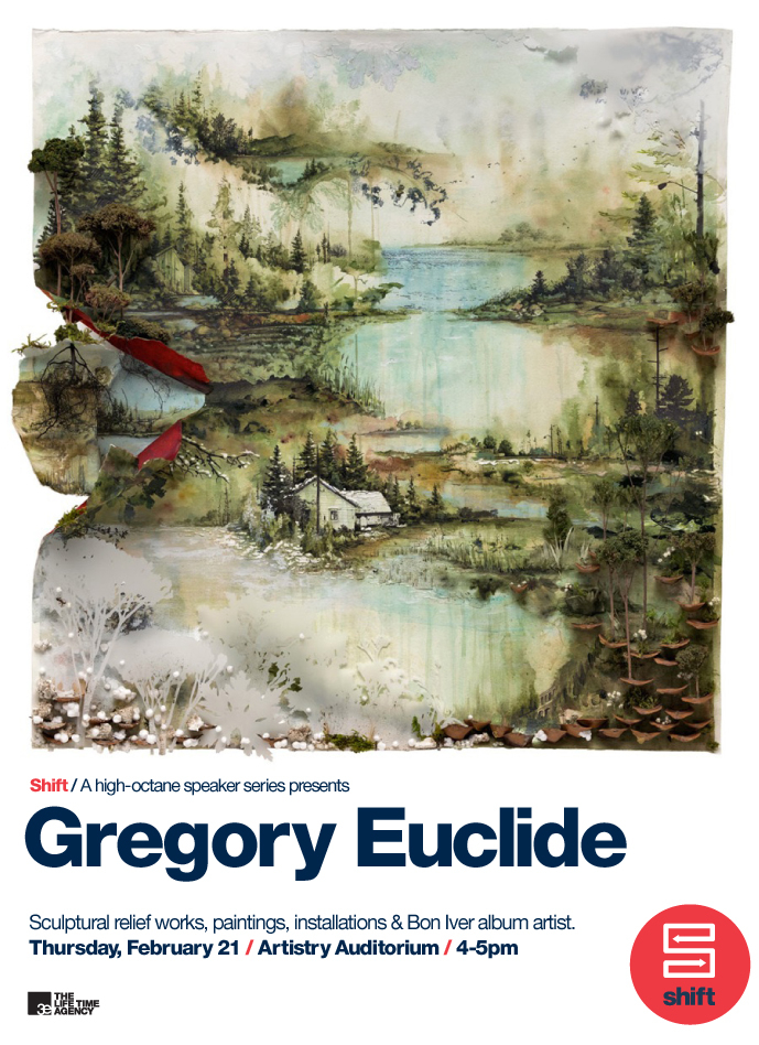 Gregory Euclide's Album Art for Bon Iver